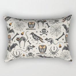 Halloween X-Ray Rectangular Pillow