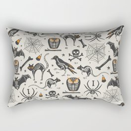 Halloween X-Ray Rectangular Pillow