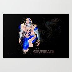 The Silverback Art Print