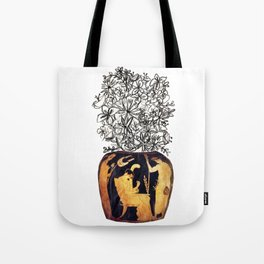 flowers for caligula Tote Bag