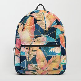 Marbled Tropical Sunset Backpack