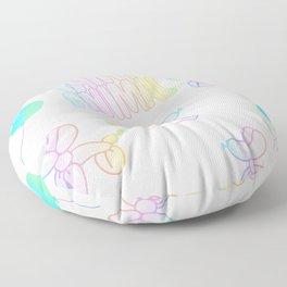 party animal Floor Pillow