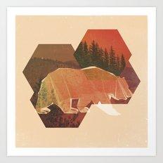 POLYBEAR Art Print
