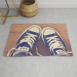 Not Without My Chucks Rug