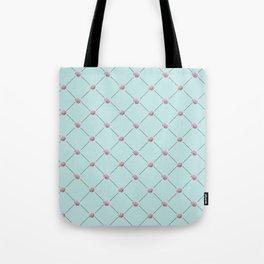 Peony Tile Tote Bag