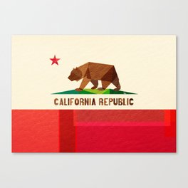 California 2 (rectangular version) Canvas Print