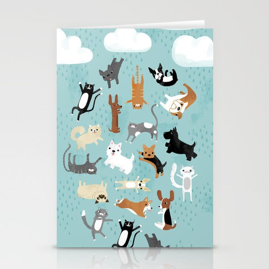 Raining Cats & Dogs by annewashere