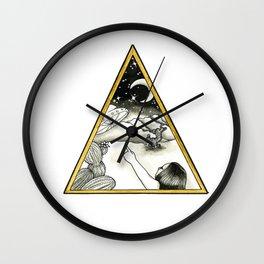 Desert Sightings Wall Clock
