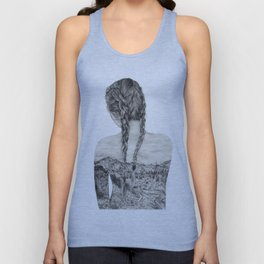 All That Is Left Is The Trace Of A Memory Unisex Tank Top