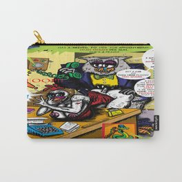 Bird of Steel Comix - Page #5 of 8 (Society 6 POP-ART COLLECTION SERIES)  Carry-All Pouch