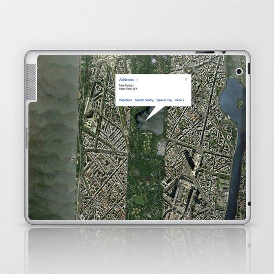 What if Manhattan Was Designed Like Paris? Laptop & iPad Skin
