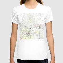 MO Joplin 325371 1986 topographic map T-shirt