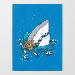 The Sleepy Shark Poster