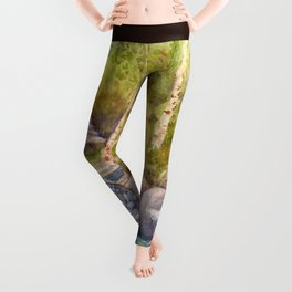 A Bridge to Morocco WC20150712a Leggings