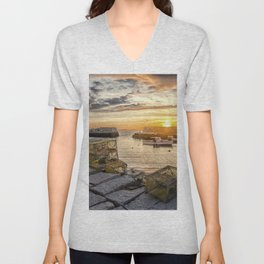 Lanes cove sunset last night 5-20-18 Unisex V-Neck