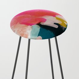 pink sky Counter Stool