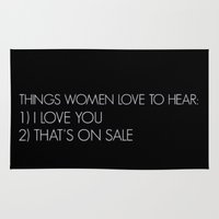 women Area & Throw Rugs featuring Women by I Love Decor