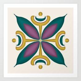 Princess Power Mandala Art Print