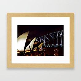 Opera Bridge Framed Art Print