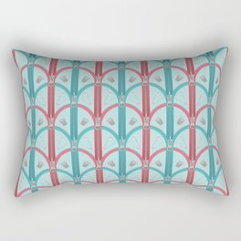 Sewing Artdeco Zippers Rectangular Pillow