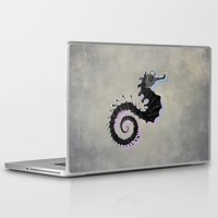 seahorse Laptop & iPad Skins featuring Seahorse by Filip Radulescu