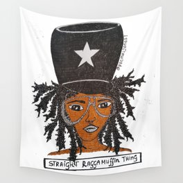Miss Raggamuffin Wall Tapestry