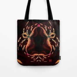 Zen and Snake Tote Bag