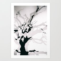 Lightning Tree Art Print
