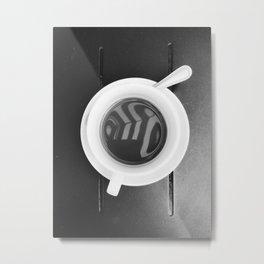 Morning Cup of Joe Metal Print