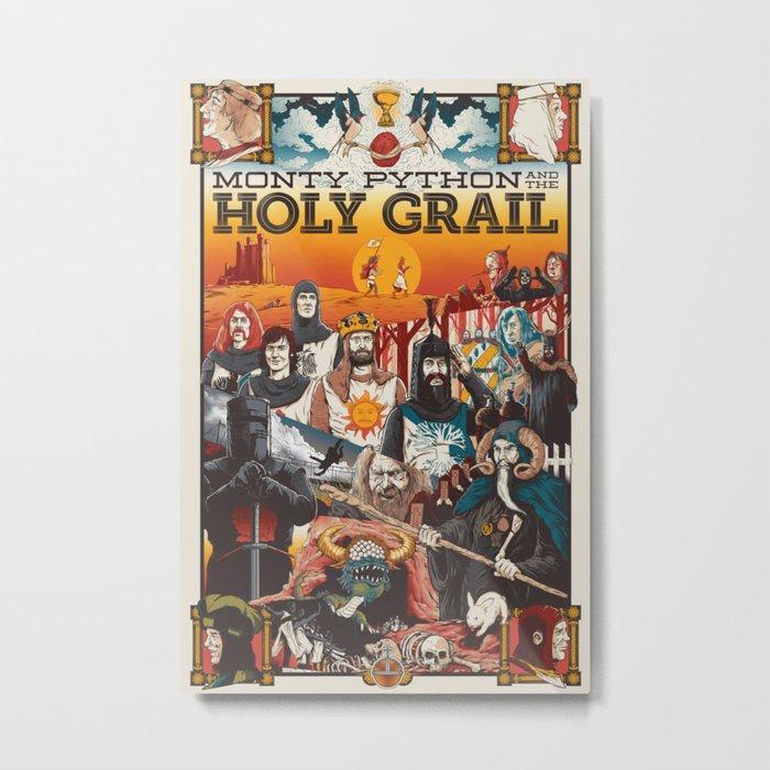 Holy Grail Metal Print