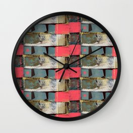 pink dots no2 Wall Clock