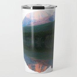 White mountain Travel Mug