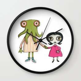 Sophia and Lucille Wall Clock