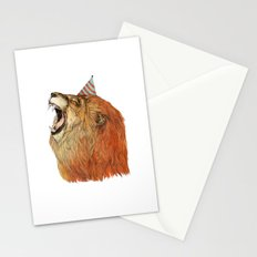 Birthday Lion Stationery Cards