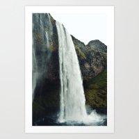 Seljalandsfoss - Iceland Art Print