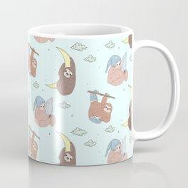 Sloth dreaming Coffee Mug