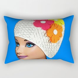 Vintage Swimmer! Cool Pop Art! Rectangular Pillow