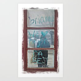 We <3 Hagen Art Print