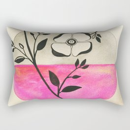 Old Fashioned Rose Rectangular Pillow