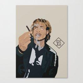 AK THE SAVIOR. Canvas Print