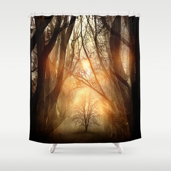 Searching Dreams Lost Shower Curtain