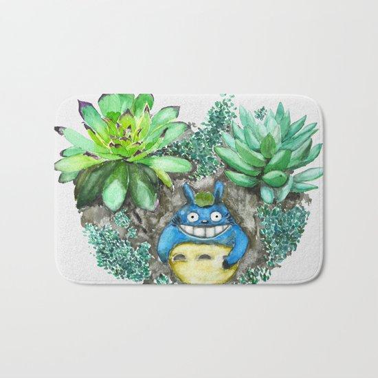 succulent plant set Bath Mat