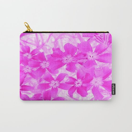 Flower   Flowers   Pink Flox Carry-All Pouch