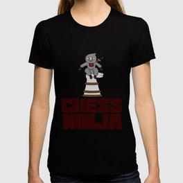 Birthday Ninja Party Samurai Ninjas Gift Japanese Ninja Chess ninja T-shirt