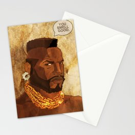 Mr. T Appreciates That You Wear Deodorant. Stationery Cards