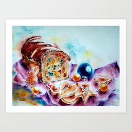 Treats for Santa Art Print