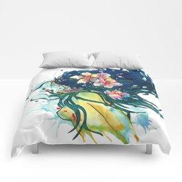Beach Goddess Comforters