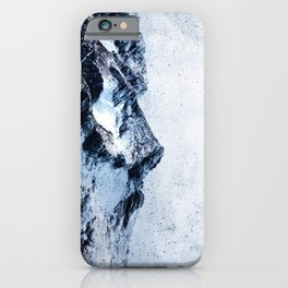 King of the mountains iPhone Case