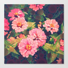 Pink Was Her Favorite Canvas Print