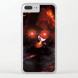 deathgun Clear iPhone Case
